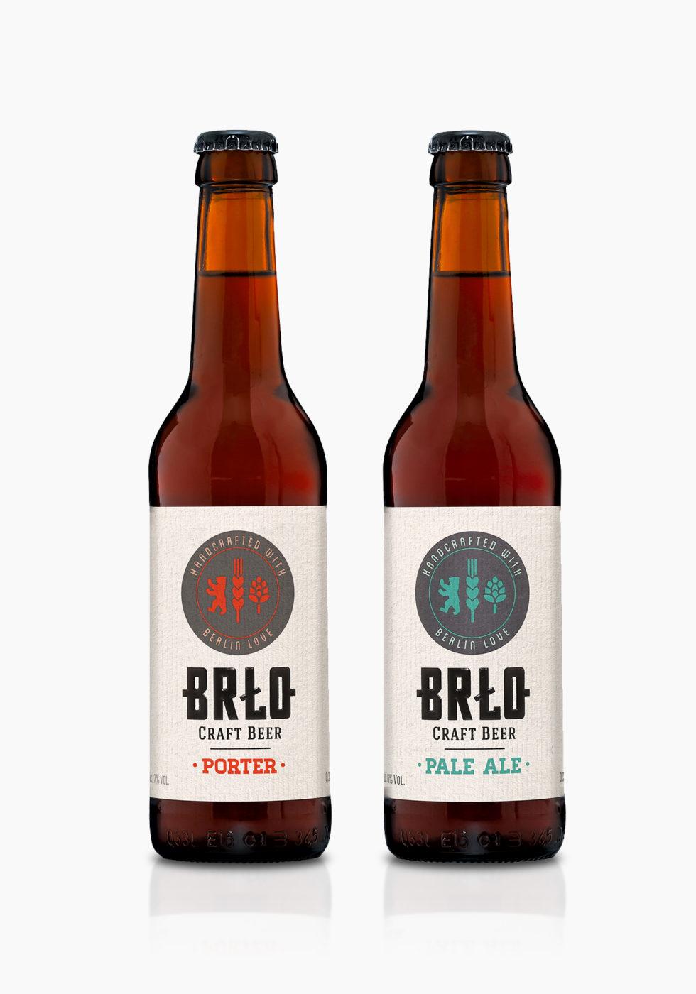 BRLO Berlin Craft Beer - LUTZ HERRMANN Design - Hamburg